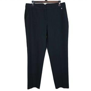 Trina Turk Straight Leg Mid Rise Dress Pants 8